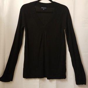 Gap cashmere vneck top size M